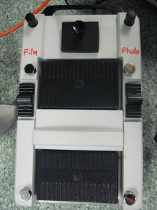The foot pedal is easy to use and completely arbitrary programming with functions.