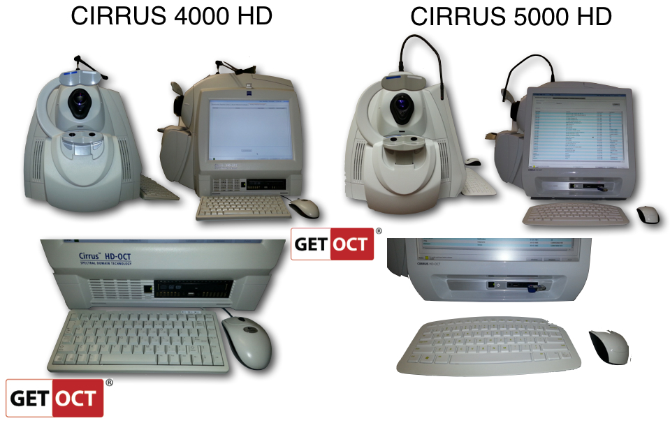 Comparision CIRRUS 4000 HD versus 5000 HD.