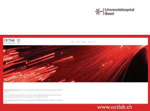 Website www.octlab.ch Universität Basel