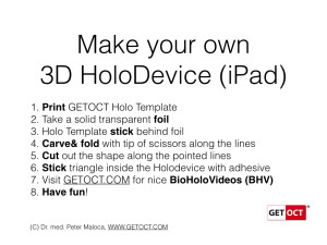 Holodevice Template iPad. Copyright ©2015 GETOCT™ Ltd. All rights reserved.